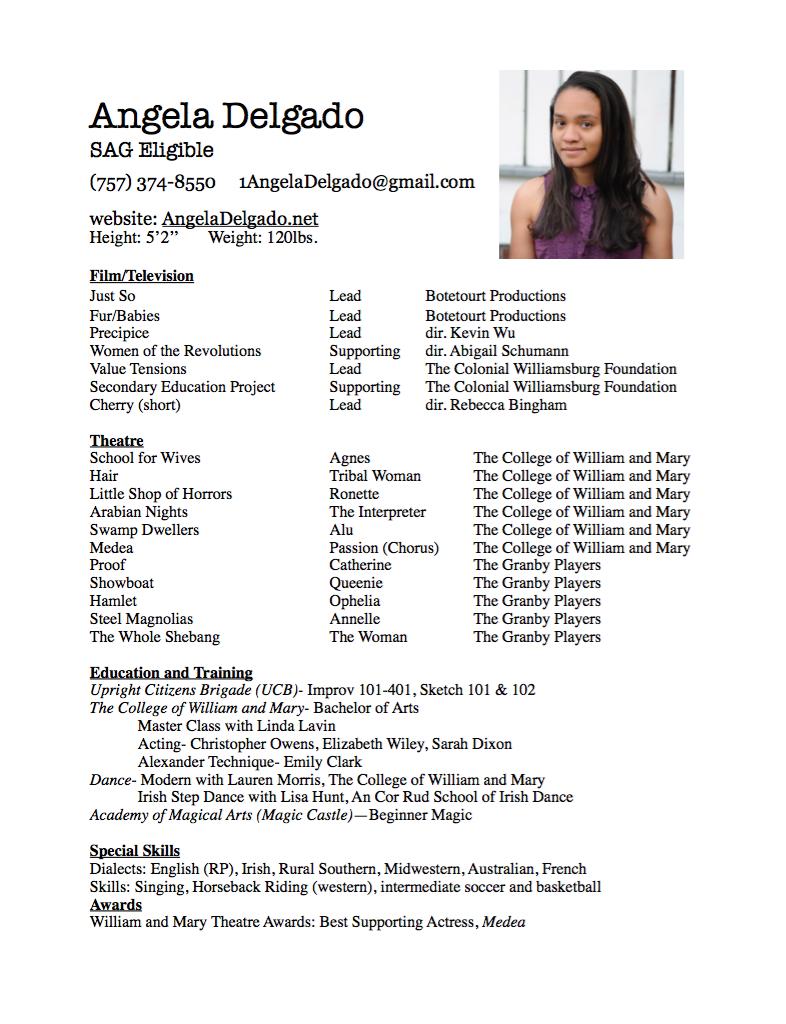 100 Actor Resume Skills Cna Resume Format Resume Cv Cover